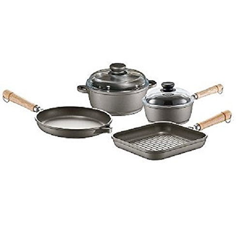 (6-Piece Tradition Cookware Pan Set with Non-Stick Coating)