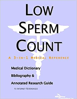 medical term for low sperm count