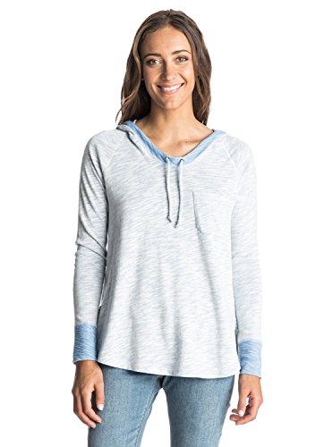 Roxy Junior's Boomerang Love Pullover Sweatshirt, Morning Sky, (Love Boomerang)
