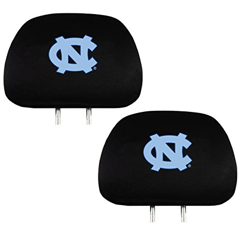 Headrest Cover Official National Collegiate Athletic Association Fan Shop Authentic NCAA Show School Pride Everywhere You Drive (North Carolina Tarheels)