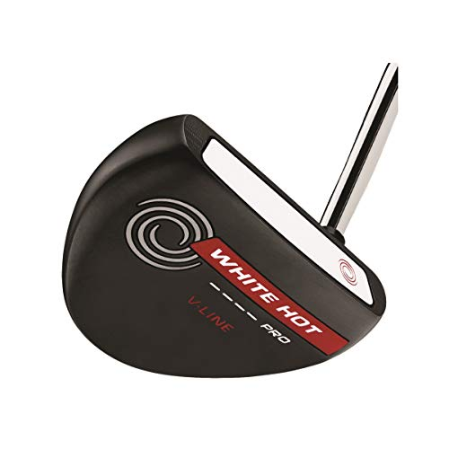 Callaway Golf Odyssey White Hot Pro 2.0 Black, V-Line, Standard Grip 35' Length Putter, Right Hand