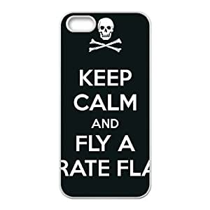 [Fly Pirate Flag] fly pirate flag Case For Ipod Touch 5 Cover {White}