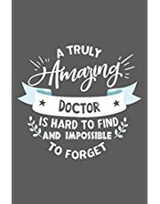 Doctor Gift: Blank Lined Notebook
