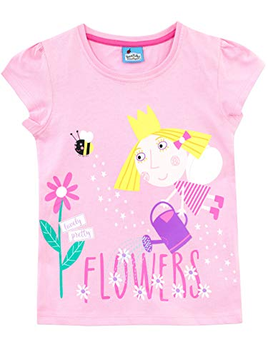 Ben & Holly Girls' Ben and Holly's Little Kingdom T-Shirt Size 2T]()