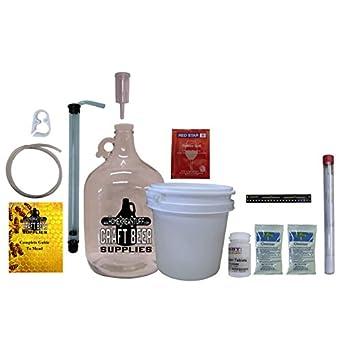 Homebrewstuff One Gallon Nano-meadery Mead Starter Kit