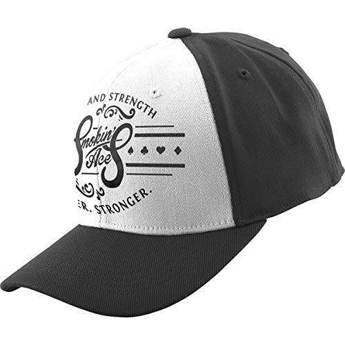 Speed & Strength Smokin' Aces Flexfit Hat (Black/White)