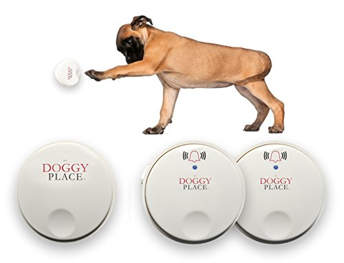 d0651881e979 My Doggy Place - Dog Pet Children Toddler, Wireless Doorbell, No Batteries  Required, Electronic Chime Bell, Potty Training, for Small, Medium, Large  Dogs ...