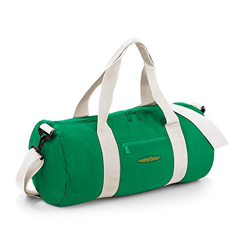 Kleine Reisetasche / Sporttasche / Gepäcktasche: Tasche -- Goodman Logo sportliche Reisetasche Farbe: hellgrün