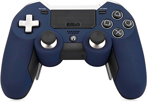 [2017 Emio Newest Version PS4 Controller], Wireless Controller for PlayStation 4 PS4 - Blue