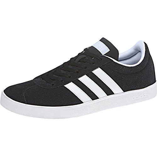 Adidas Damen Vl Court 2.0 Fitnessschuhe Schwarz (cblack / Ftwwht / Aerblu Cblack / Ftwwht / Aerblu)