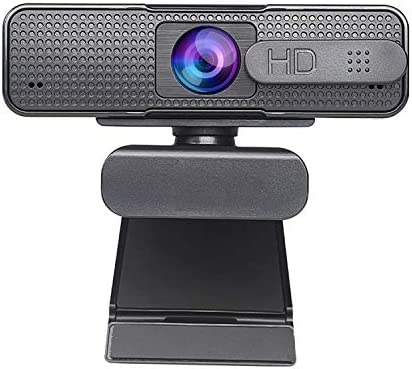Autofocus Webcam 1080P with Privacy Cover, Noise Cancelling Mic, Full HD Web Camera Wide Screen Video Calling Recording Game Streaming, Skype Web Cam for Mac OS X Win 10 8 7 Vista XP