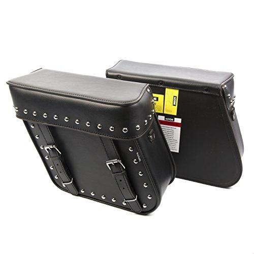 Edge Leather Rigid Saddlebag 15 L - Edge Leather Saddlebag