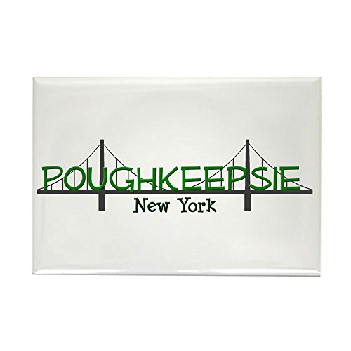 CafePress Poughkeepsie New York Rectangle Magnet, 2
