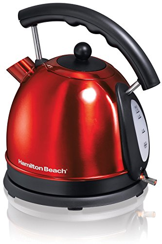 NEW! New Hamilton Beach 40894 Compact Stainless Steel Ensemble 10-Cup Electric Kettle by NMC Shop
