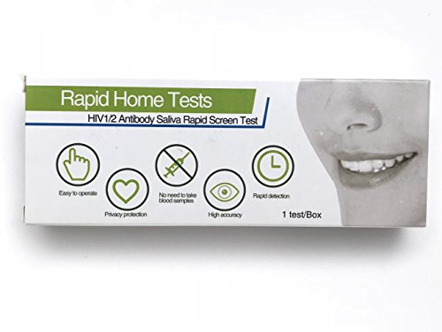 Rapid in Home HIV 1/2 Antibody detection Saliva Test Kit (Hiv Home At Test)