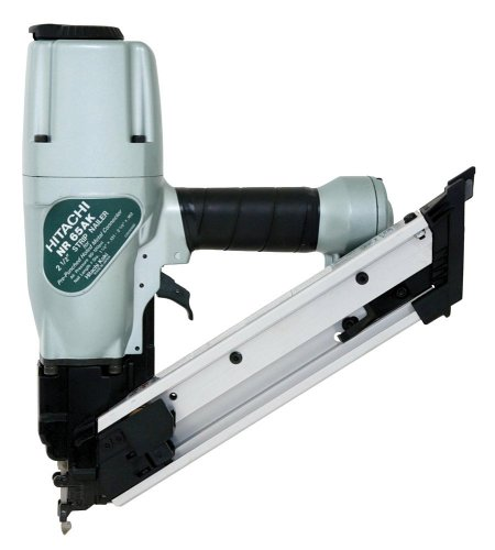 Hitachi NR65AKS Strap-Tite 1-1/2-Inch to 2-1/2-Inch Positive Placement Nailer with Short Magazine  (Discontinued by Manufacturer)