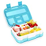 Kids Lunch Box Bento Box for Kids COME2LOOK BPA-Free Leak Proof 4-Compartment Lunch