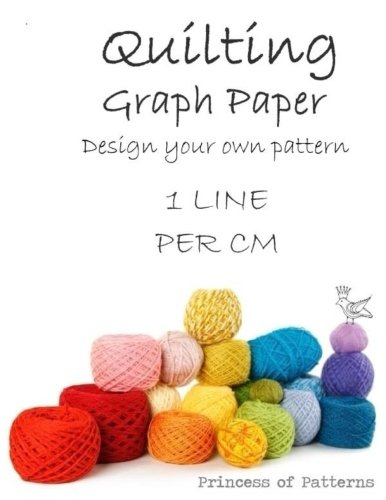 Quilt Graph Paper: Diagonal 1 Line Per Cm Thor Wisteria