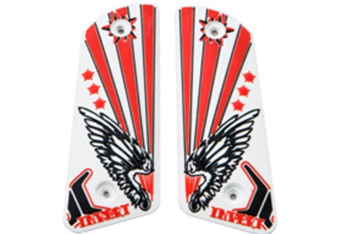 Empire Grip .45/Ion - Wings Red by Empire Paintball
