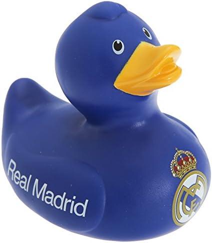 レアル・マドリード フットボールクラブ Real Madrid CF オフィシャル商品 ビニール製 お風呂 アヒル おもちゃ