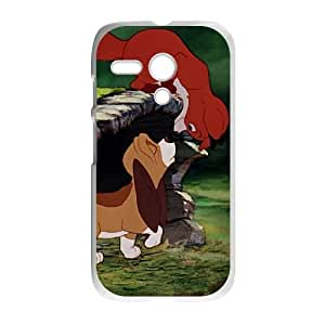 Motorola Moto G Phone Case Cartoon Fox and the Hound Protective Cell Phone Cases Cover DFJ102798