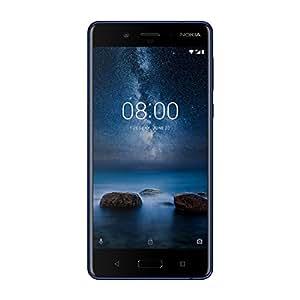 Nokia 8 64GB Single-SIM Android Factory Unlocked 4G/LTE Smartphone (Tempered Blue) - International Version