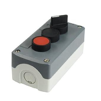eDealMax 240V 3A SPST enclavamiento estación Botón DE 2 ...