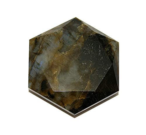 Labradorite Crystal Healing Tool Large Star of David SODLAB1913 by Gifts and Guidance