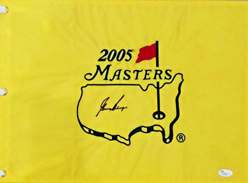 Gary Player Signed Autographed 2005 Masters Flag JSA Authentic (2005 Masters Flag)