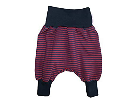 Terry Pantaloni Harem Pantaloni' Skipper' Marine - blu scuro, rosso, 50/56 Kleine Könige