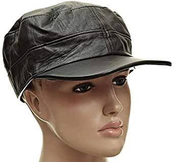 Gig Leather Cap for Women