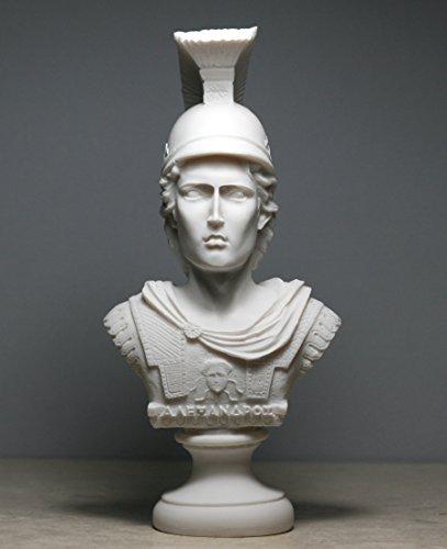 Alexander The Great Bust Sculpture Alabaster Statue 7.48΄΄ ()