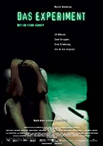 The Experiment Poster Movie German 27 x 40 In - 69cm x 102cm