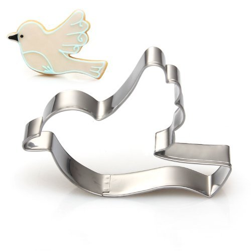 SODIAL Stainless Steal novelty Cookie Cutter cake mould for kinds of occasion