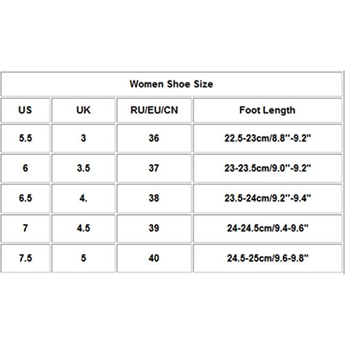 wuayi Femme Sport Chaussures Rose de qTvB0gwT8
