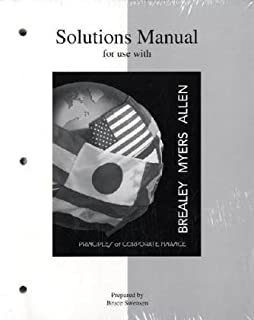 Amazon solutions manual to accompany principles of corporate solutions manual to accompany principles of corporate finance mcgraw hill series in finance fandeluxe Image collections