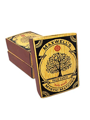 3 Pack Palo Santo Incense Matches by Maxwell's Mystic Matches (Image #5)