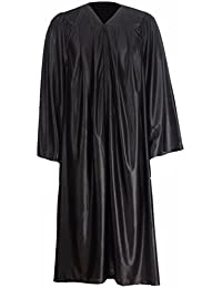 GraduationMall Unisex-adult's Economy Shiny Graduation Gown Only Size S-XXXX Large