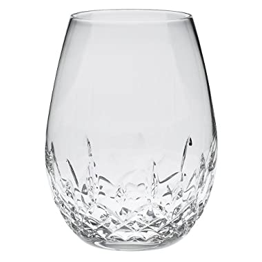 Waterford Lismore Nouveau Stemless Deep Red Wine Pair