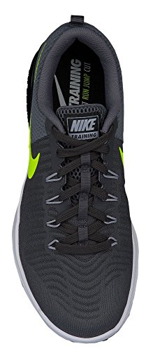 Nike Herren Laufschuh NIKE ZOOM TRAIN ACTION grau / schwarz / gelb Grau