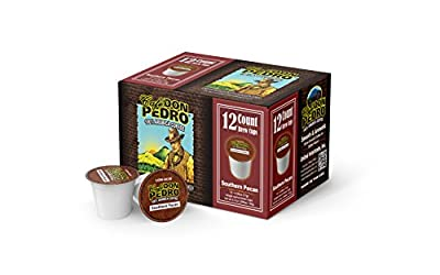 Cafe Don Pedro Southern Pecan 72 Count Kcup Low-Acid Coffee
