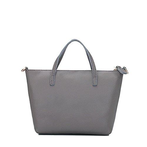 UMAZON VHB420008C6 Genuine Leather Korean Version Women's Handbag,Dumplings Type - Lee In Ma Outlet