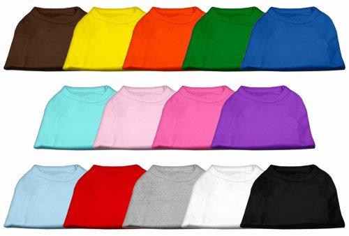 Mirage Pet Products 14-Inch Plain Shirts, Large, White