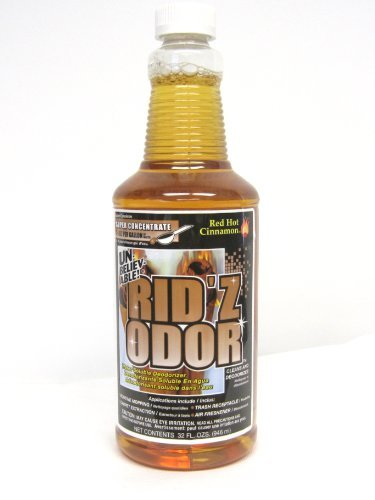 Unbelieveable Rid'z Odor Concentrate Cleaner - Red Hot Cinnamon, 32 oz