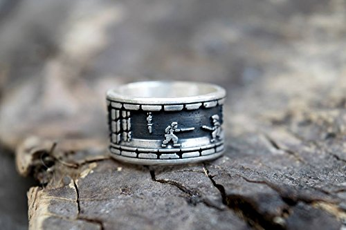 PRINCE OF PERSIA Ring in silver by San San Atelier
