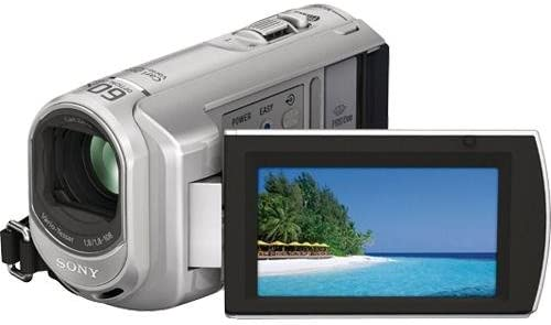 Sony DCR-SX40 Palm-Sized camcorder with 60X Optical Zoom (Silver) (Discontinued by Manufacturer)
