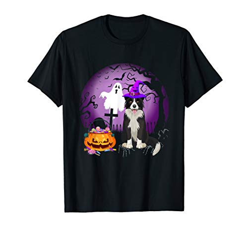 Halloween Border Collie (Border Collie Dog Candy Pumpkin Halloween Gift)