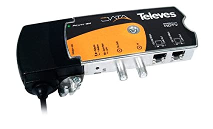 Coaxdata 200Mbps - COAX+PLC - 2xEth (US)