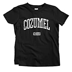 Represent for Cozumel and all of Mexico with this vintage-style print! We designed this to have a vintage, distressed look. Printed with eco-friendly inks. Youth and toddler shirts are 4.3-4.5 oz. 100% combed ringspun cotton. Baby shirts are ...