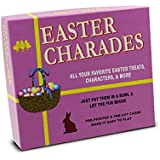 Easter Charades. The Original Easter Charades Game Perfect for Your Easter Party Games. Makes a Great Easter Basket Stuffer. Features Popular Easter Figures Such As The Easter Bunny and More!